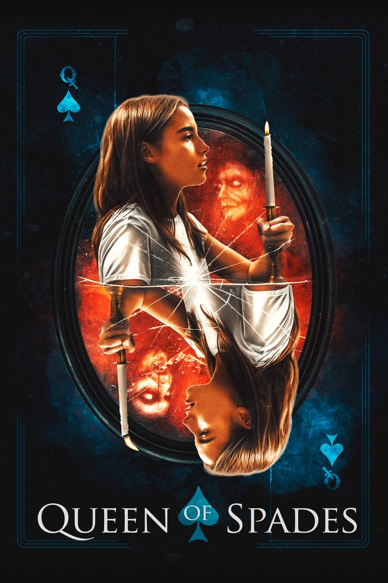 queen of spades poster