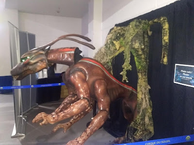 A Viperwolf puppet from Cirque du Soleil, Toruk