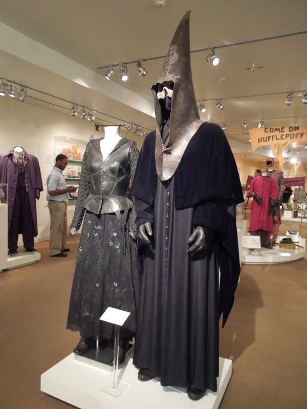 Original Harry Potter Death Eater movie costumes