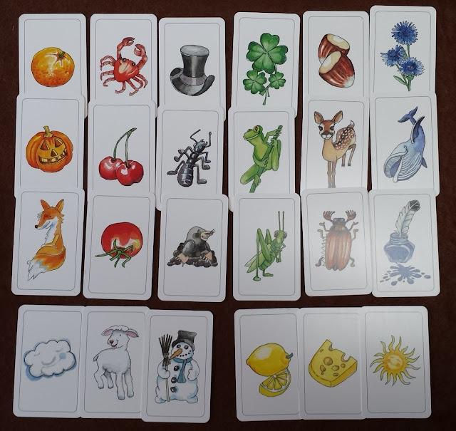 楽しい色並べ Farben Lernen 色んな物のカード