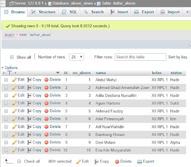 Cara Export Database Ke Word