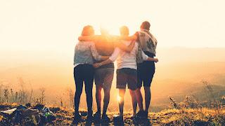 Cadena para compartir sobre la amistad
