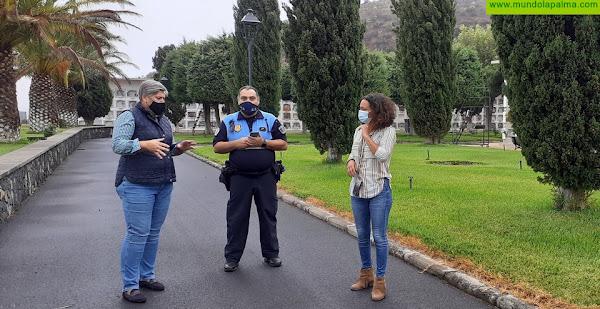 Los Llanos de Aridane celebra el día de Todos los Santos con estrictas medidas de seguridad anticovid-19