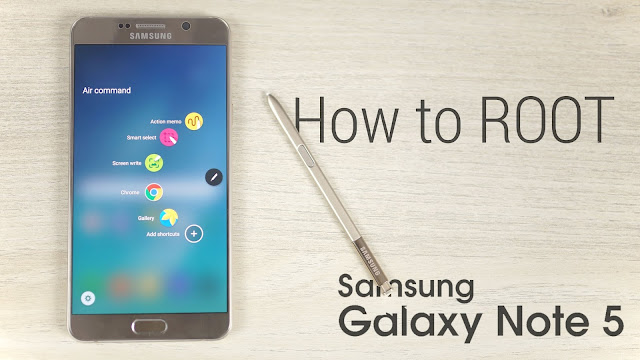 Root Samsung NOTE 5 T-Mobile SM-N920T Nougat 7.0