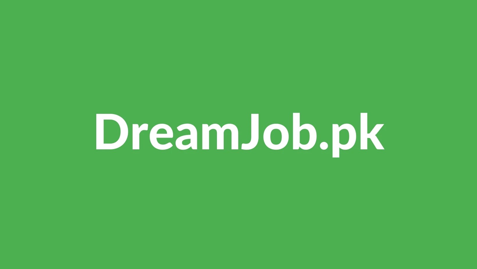 DreamJob.pk Logo