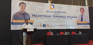 PP JAPNAS Gelar Fit Pro And Proper Test Bagi Caketum JAPNAS PW Jambi Sebelum Dilantik.