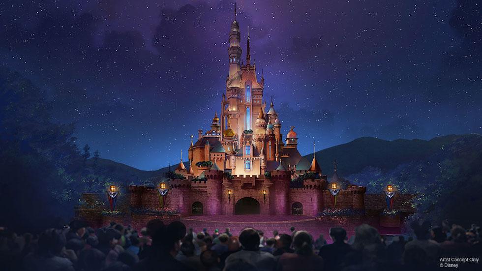 Image of Hong Kong Disneyland Castle