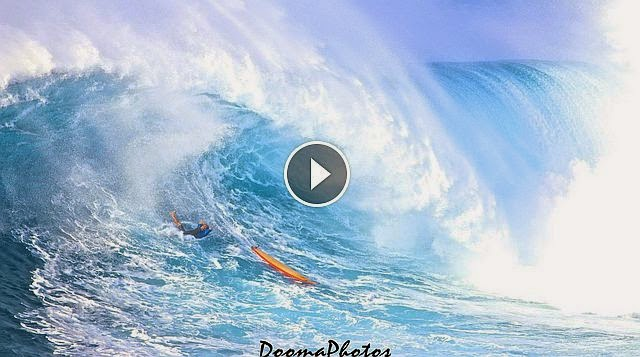 Amazing Wipeouts Jaws Peahi Maui