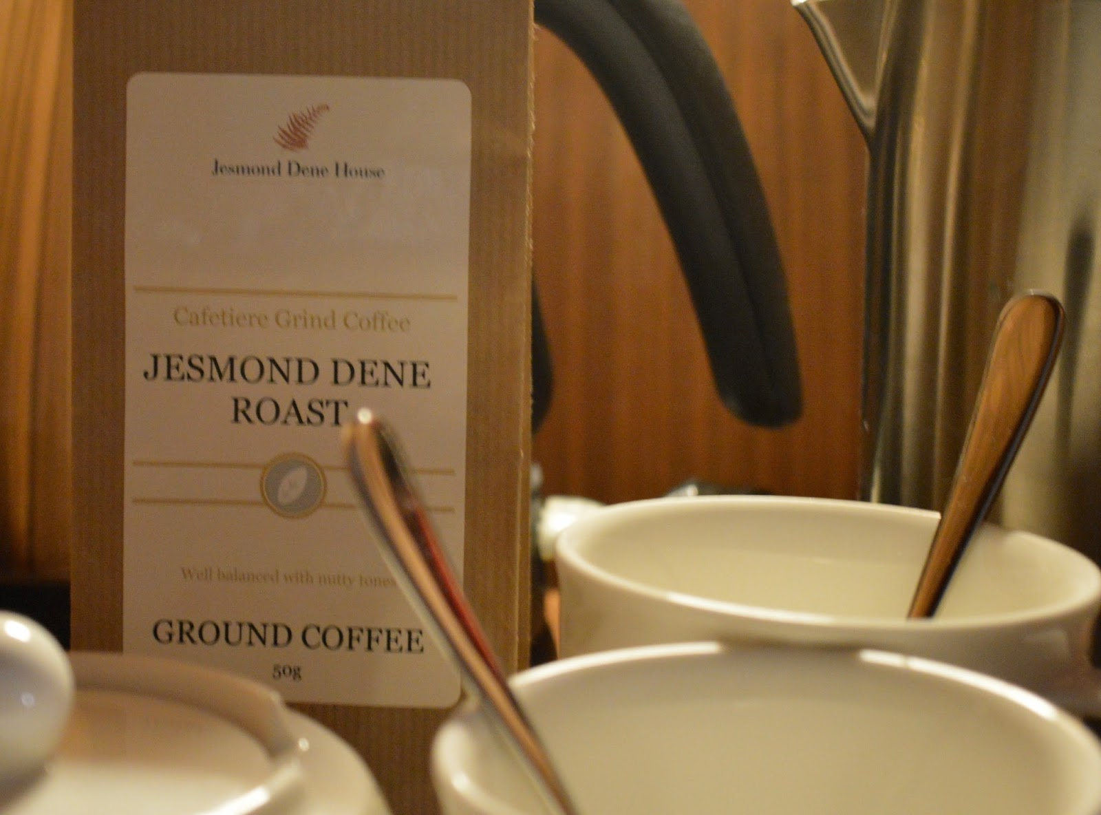 A Luxury Stay at Jesmond Dene House Hotel | The Best Luxury Boutique Hotel in Newcastle - Jesmond Roast coffee in room