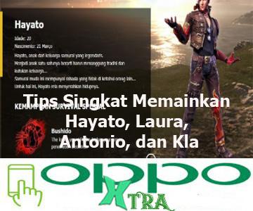 Tips Singkat Memainkan Hayato, Laura, Antonio, dan Kla