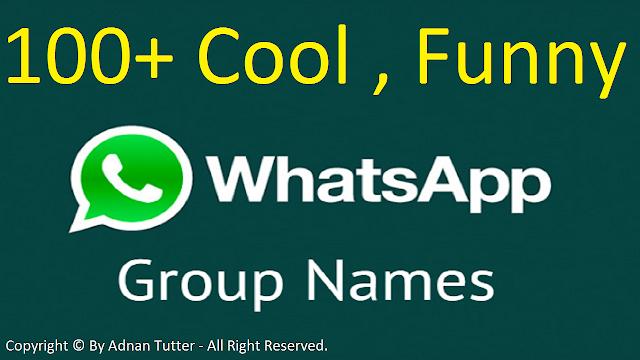 Top 100+ Whatsapp Group Names