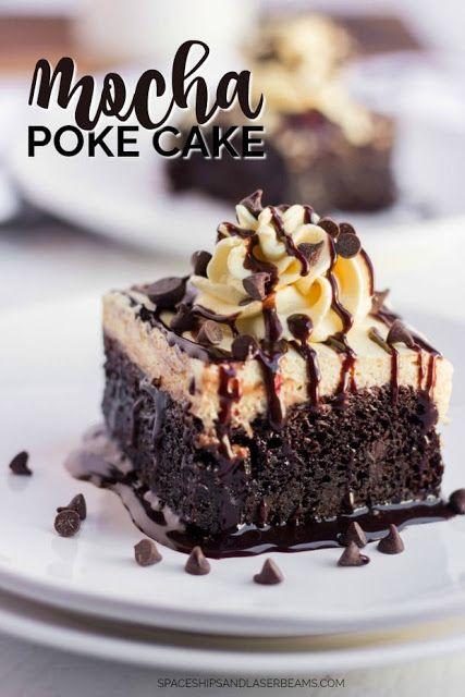 Mocha Poke Cake Recipe