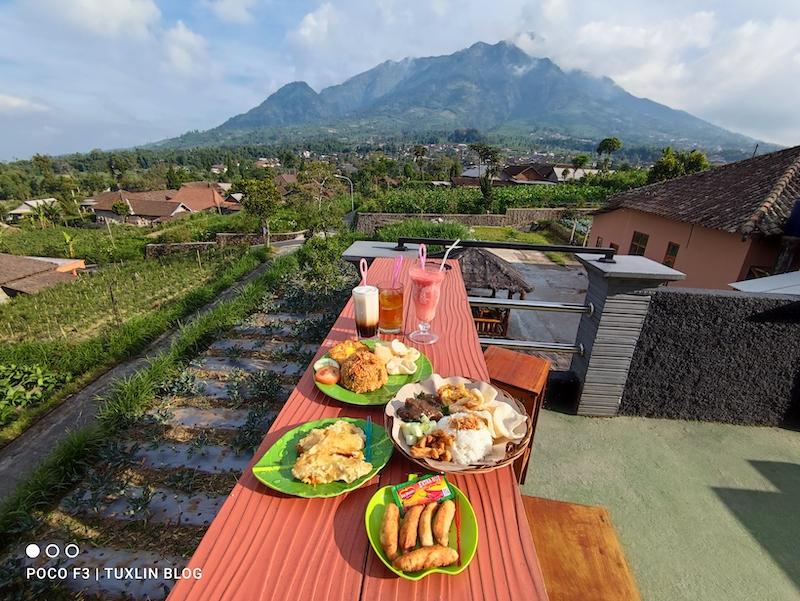 Ndalem Coffee Selo Boyolali, Nongkrong Asik dengan View Gunung Merapi