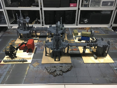 Sector Mechanicus Terrain WIP