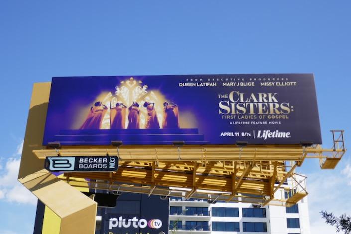 Clark Sisters First Ladies of Gospel Lifetime billboard