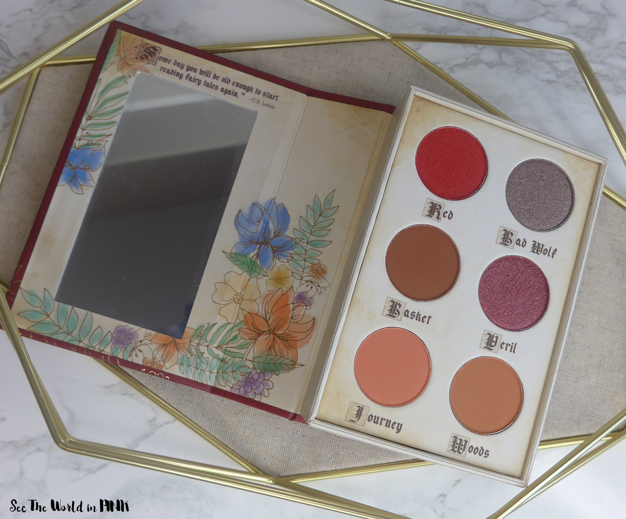 Storybook Cosmetics Red Riding Hood palette