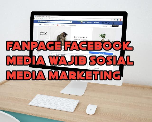 Fanpage facebook untuk membangun brand