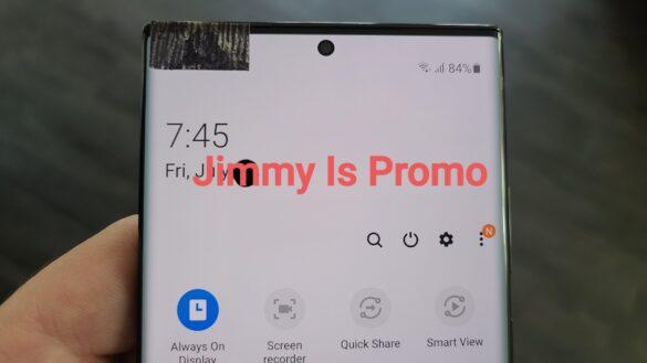 تسريب الصور الحقيقية الأولى لهاتف جالكسي نوت Galaxy Note 20