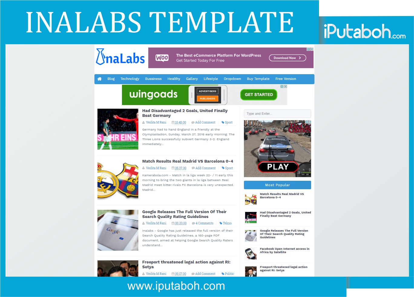 InaLabs Template - High CTR , SEO , Responsive Blogger Templates ...