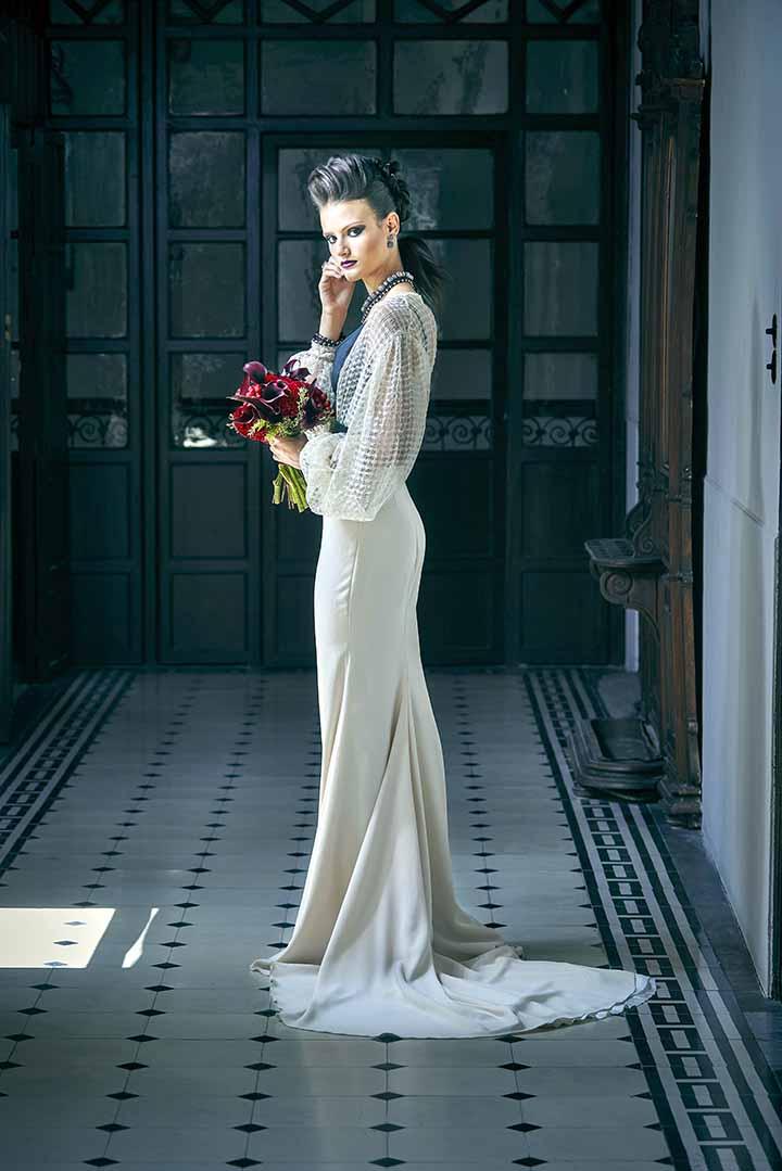 peinado para novias trenzas recogidos 2020