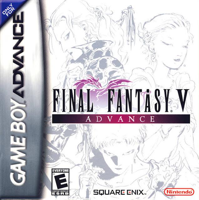 Final Fantasy V Advance - Español - Portada