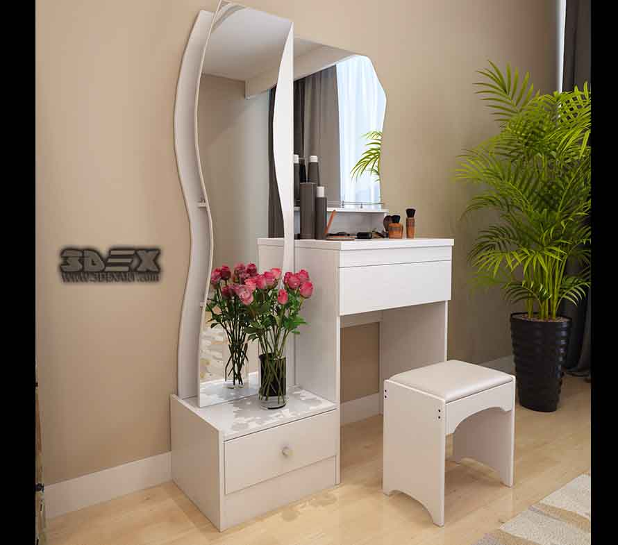 +50 Latest small dressing table designs for bedroom ...