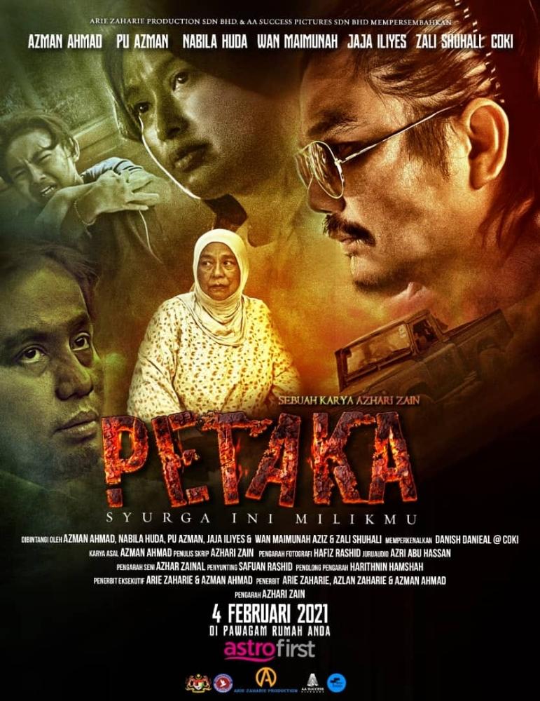 Petaka, Astro First, Nabila Huda, Coki, Azman Ahmad, Keldai Dadah, dadah, Agensi Anti Dadah Kebangsaan, Filem Petaka