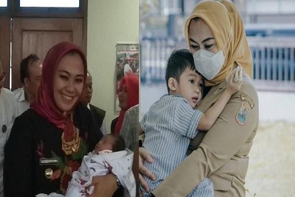 Dulu Dibuang, Bayi yang Diadopsi Bupati Cantik Kini Makin Tampan