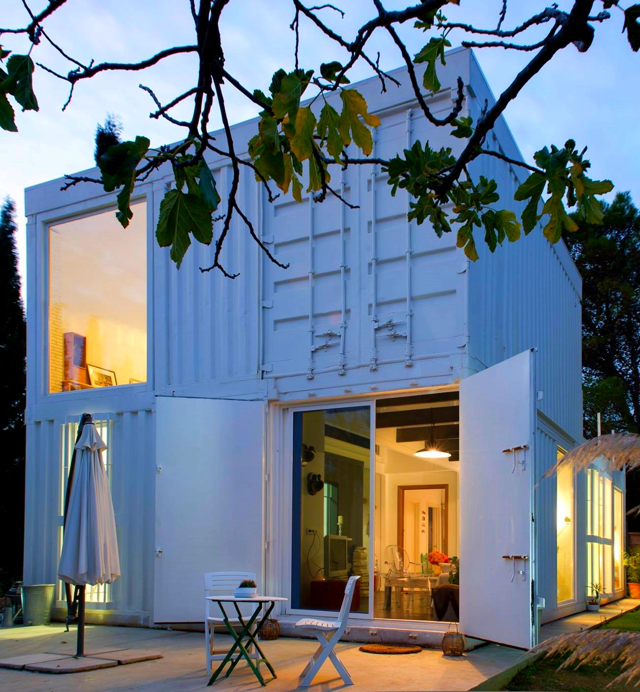 Shipping Container Homes & Buildings: Prefab Modular Two 40 ... on prefab home plans, semi-trailer home plans, conex container homes plans, storage trailer home plans, three story home plans, sip home plans, 5 bed home plans, warehouse home plans, barn home plans, conex box home plans, shipping containers into homes, steel home plans, shipping crate homes plans, 28 x 40 home plans, large garage home plans, off grid home plans, classic home plans, 24x40 home plans, v-shaped home plans, shipping containers for homes,