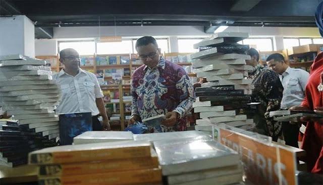 Literasi Naik, Anies Daftarkan Jakarta Jadi Kota Buku Dunia