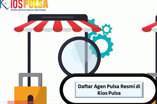 Daftar Agen Pulsa Resmi di Kios Pulsa