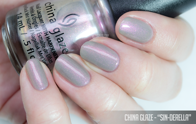 China Glaze - Sin-derella
