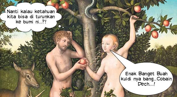 Kisah Adam Dan Hawa