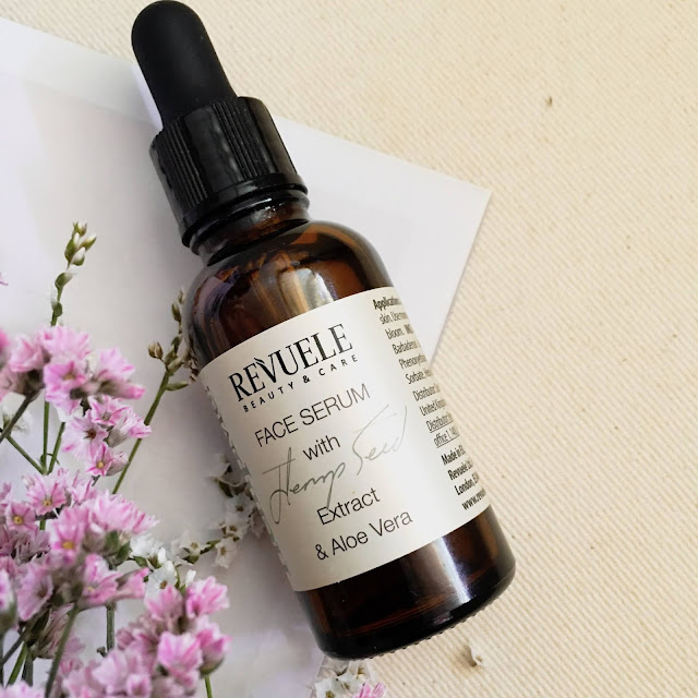 hemp seed facial serum