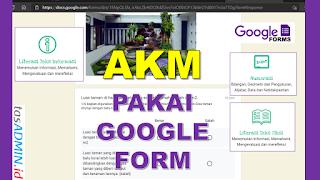Membuat Soal AKM Menggunakan Google Forms Kuis