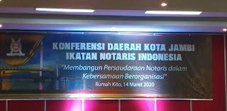 Inilah Wajah Dan Nama Bakal Calon Pengda INI Kota Jambi Periode 2019-2022.
