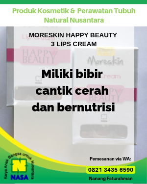 Moreskin Lip Cream Happy Beauty