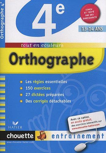 Orthographe 4e _ Christine Formond