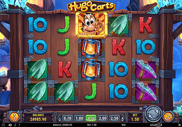 Main Gratis Slot Indonesia - Hugo Carts Play N GO