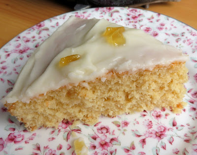 Lemon & Ginger Snack Cake
