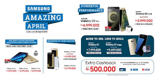 9 Samsung Amazing April Promo di Erafone