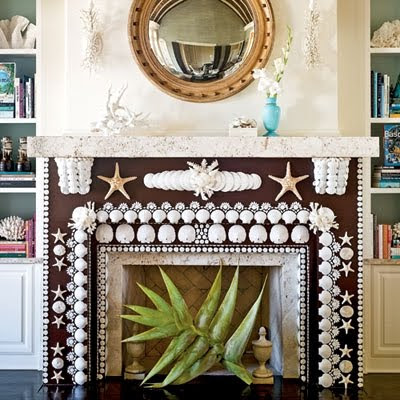 DIY shell mosaic