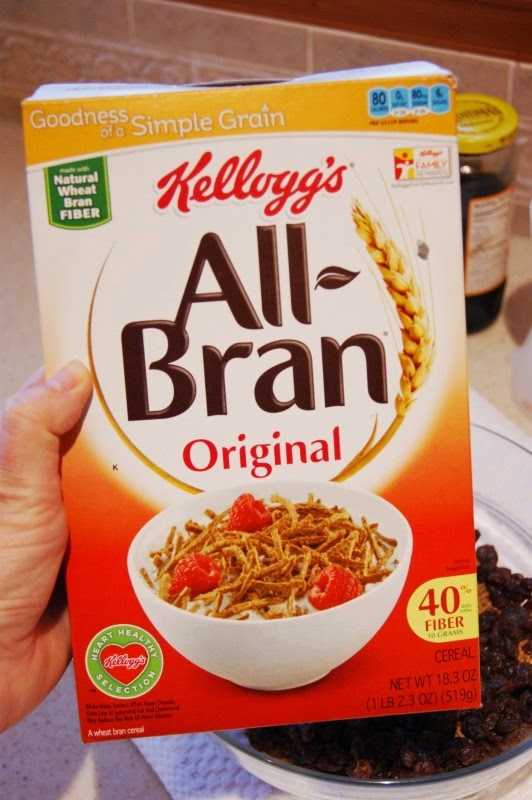 All Bran Cereal to Make Bran Muffins Image