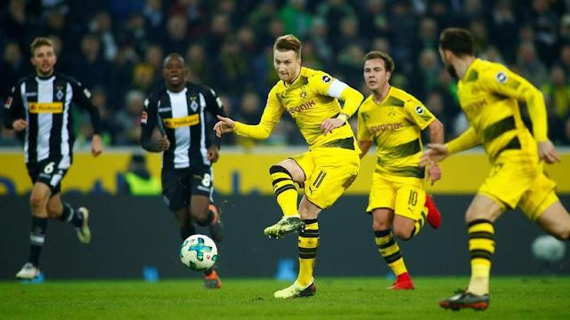 Gol Tunggal Reus Menangkan Dortmund di Markas Gladbach