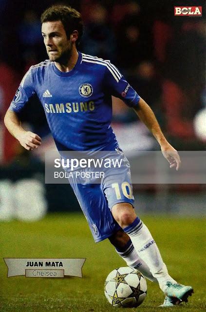 Juan Mata Chelsea 2012