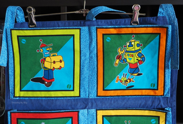 Repair a robot wall hanging ~ Threading My Way