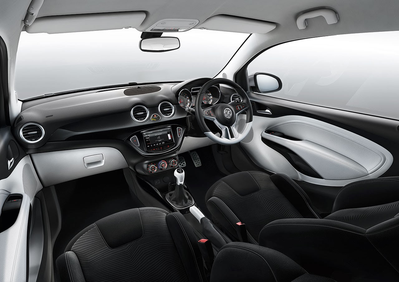 Vauxhall ADAM White Interior