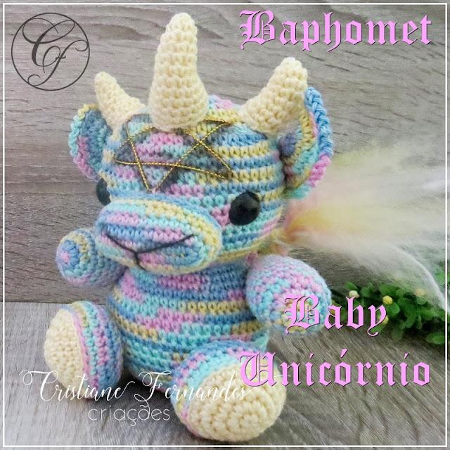Baphomet Baby Unicórnio