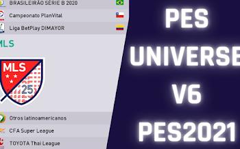 PESUniverse V6 Option File | PES2021 (PC)