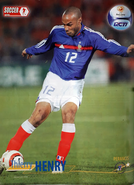 PIN UP THIERRY HENRY (PRANCIS)